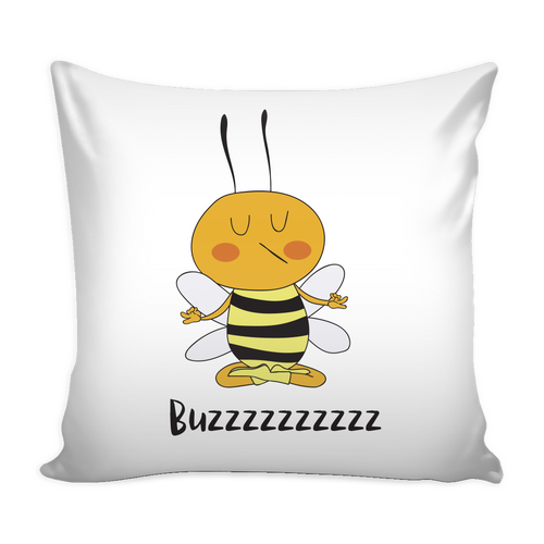 Buzzzz Mediation Save the Bee Pillowcase
