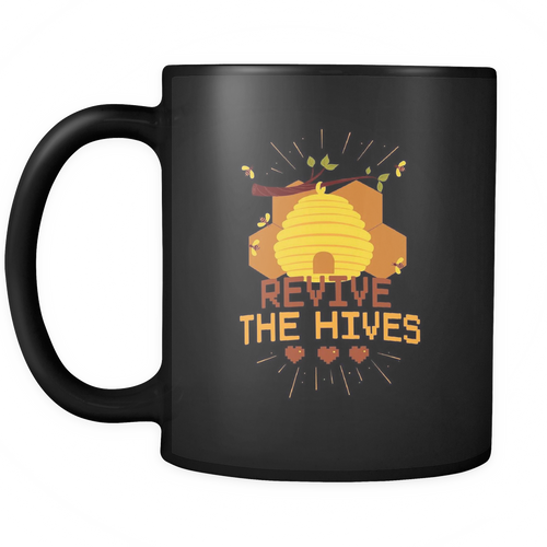 Revive the Hive Save the Bee Mugs
