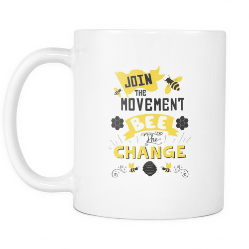 Join the Movement! Save the Bees Mugs!