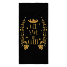 God Save the Queens Save the Bee Beach Towel