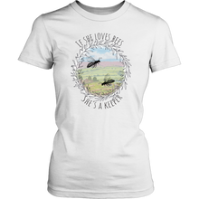 If She Loves Bees, she's a keeper Womens T-Shirts