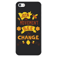 Join the Movement! Bee the Change Phone Cases