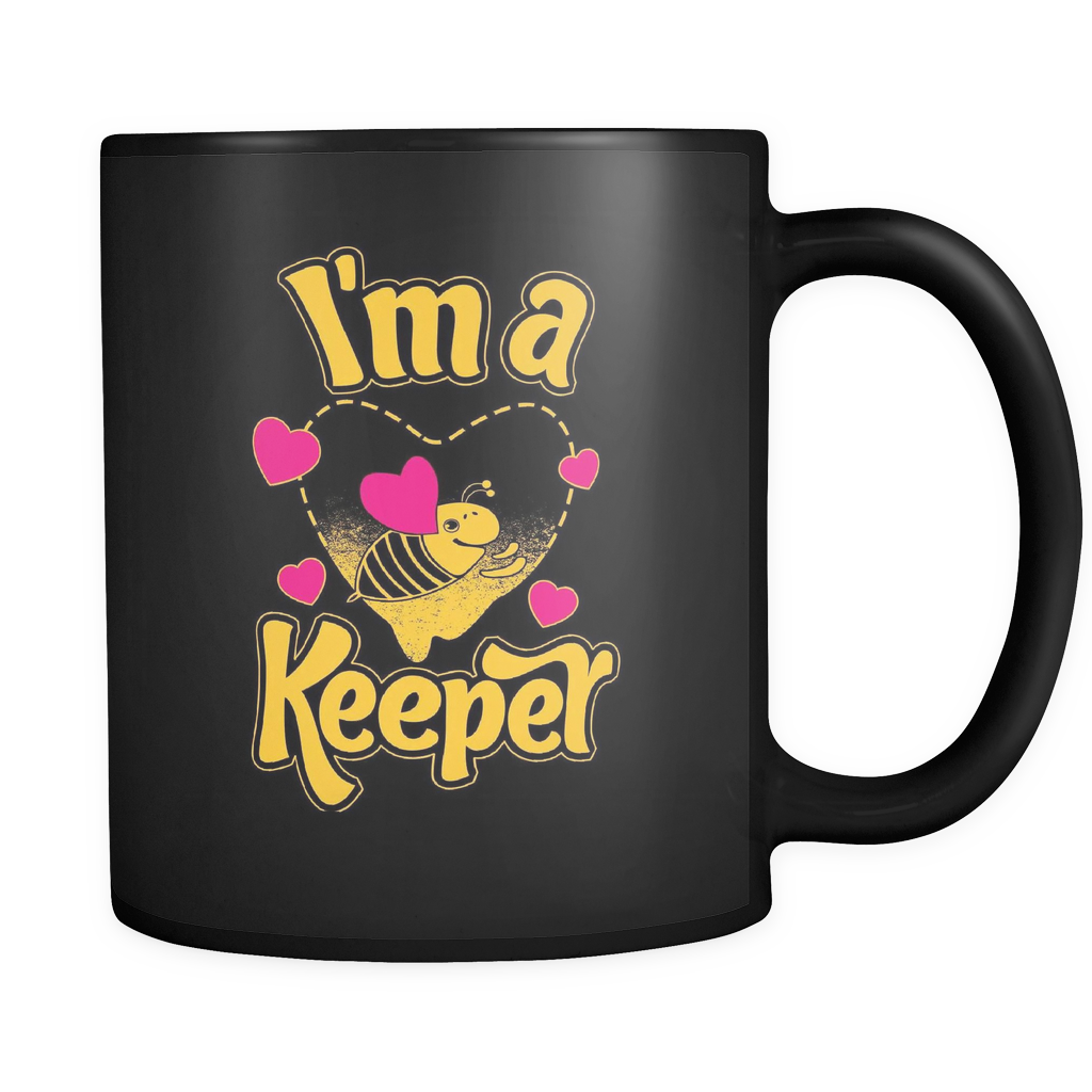 I'm a Keeper! Save the Bee Heart Mugs