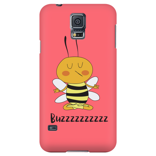 Buzzzz Mediation Save the Bee Phone Cases