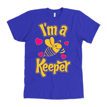 I'm a Keeper! Save the Bee American Mens Apparel