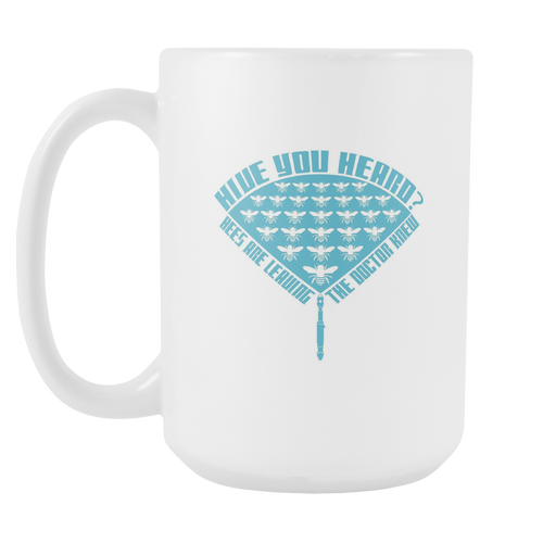 Hive your Heard Doctor Who Save the Bee Mugs