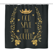 God Save the Queen Shower Curtain