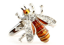 Men Jewelry Novelty Bee Shape Cufflinks