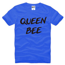 Queen Bee Creative Letter Printed Mens Men T Shirt
