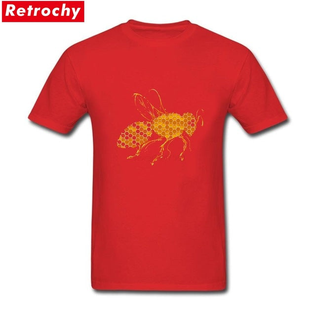 Regular Fit Honey Bee Tees Custom Design