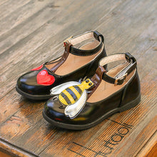 Fashion children leather shoes for girls