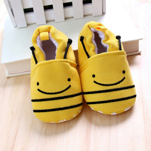 Baby Soft Soled Happy Bee Shoes