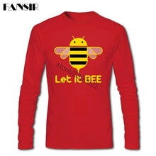Leisure T Shirt Men Let It Bee Save The Bee