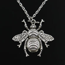 Honey bee Pendants round cross chain short long Jewelry Gift