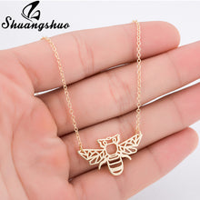 Bee Necklace for Women Honey Bee Necklace Choker