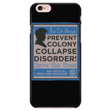 Prevent Colony Collapse Disorder! Dr Who Phone Cases