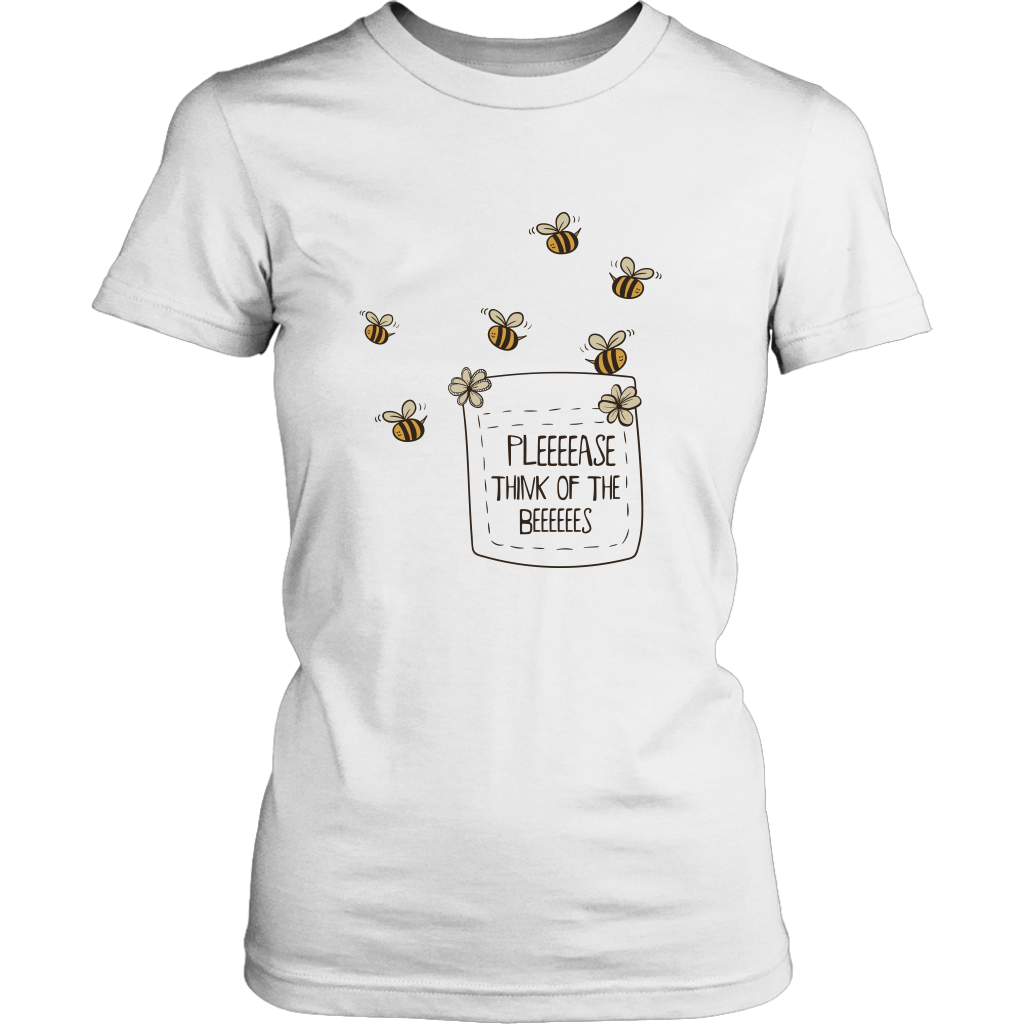 Please think of the Bees Womens Tees