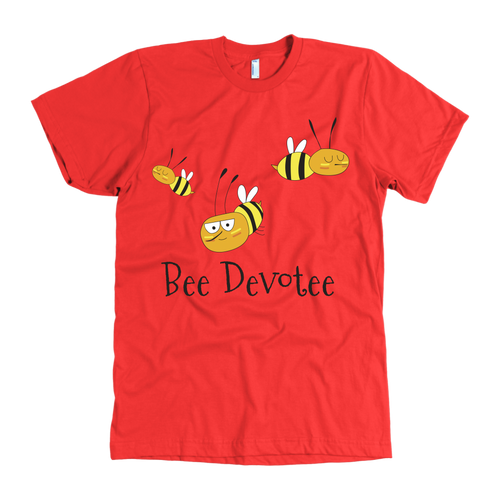 Proud Bee Devotee Mens Bee tee shirts