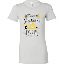 Pollination Celebration Save the Bees Bella Womens Tee Shirts
