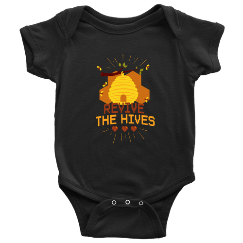 Revive the Hives Save the Bee Baby Onesie