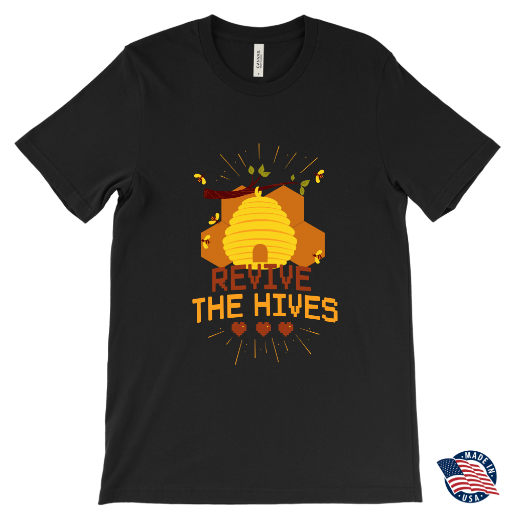 Revive the Hives Mens Save the Bee Tee Shirts