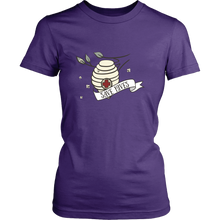 Save Hives Save the Bees Womens Tee Shirt