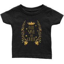 God Save the Queen Bee Infant T Shirt