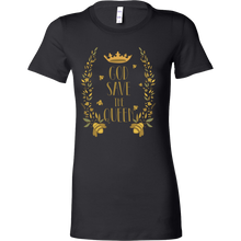 God Save the Queen Bella Womens Shirt