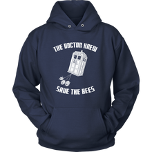 The Doctor Knew Save the Bees Hoodie Shirt