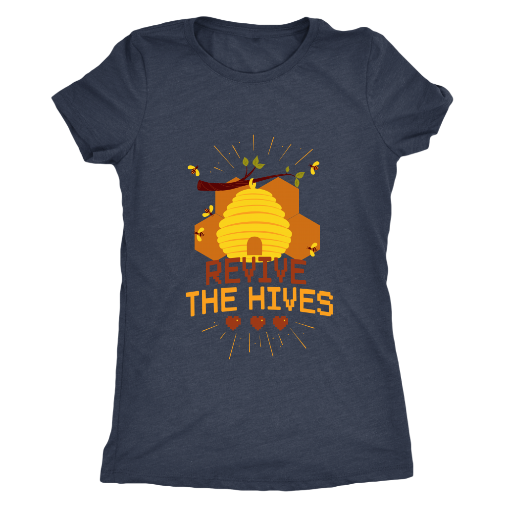 Revive the Hives Womens Save the Bee Tee Shirts