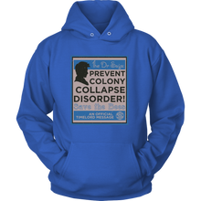 Dr Who Prevent Colony Collapse Disorder Bee Hoodie Unisex