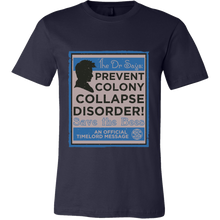 Dr Who Prevent Colony Collapse Disorder Bee Shirts Unisex