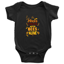 Let the Hives Thrive Baby Onesie shirt