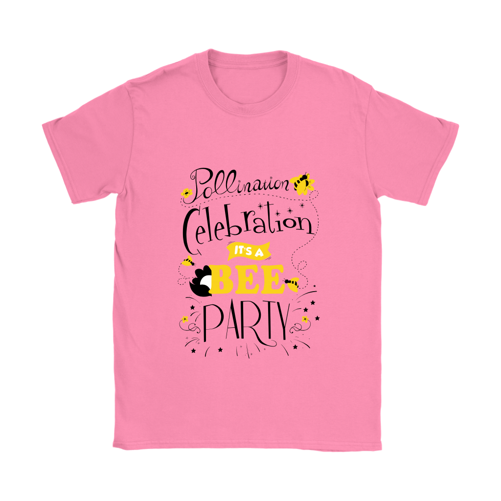 Pollination Celebration Save the Bees Womens Tee Shirts
