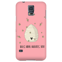 Bees Have Hive Hearts Too Mobile Phone Cases
