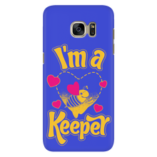 I'm a Keeper! Save the Bee Cell Mobile Phone Covers