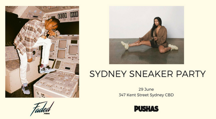 Sydney Sneaker Party - 29 June
