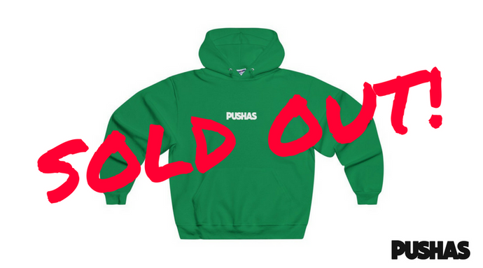 PUSHAS Apparel Drop Sells Out In Less Than 3 Days