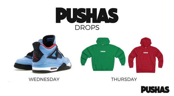 Announcement: PUSHAS Drop Days