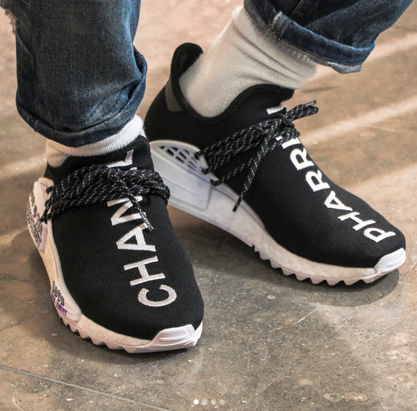 pretty nice 77673 28948 World's Most Exclusive Sneakers By Chanel x Pharrell x ...
