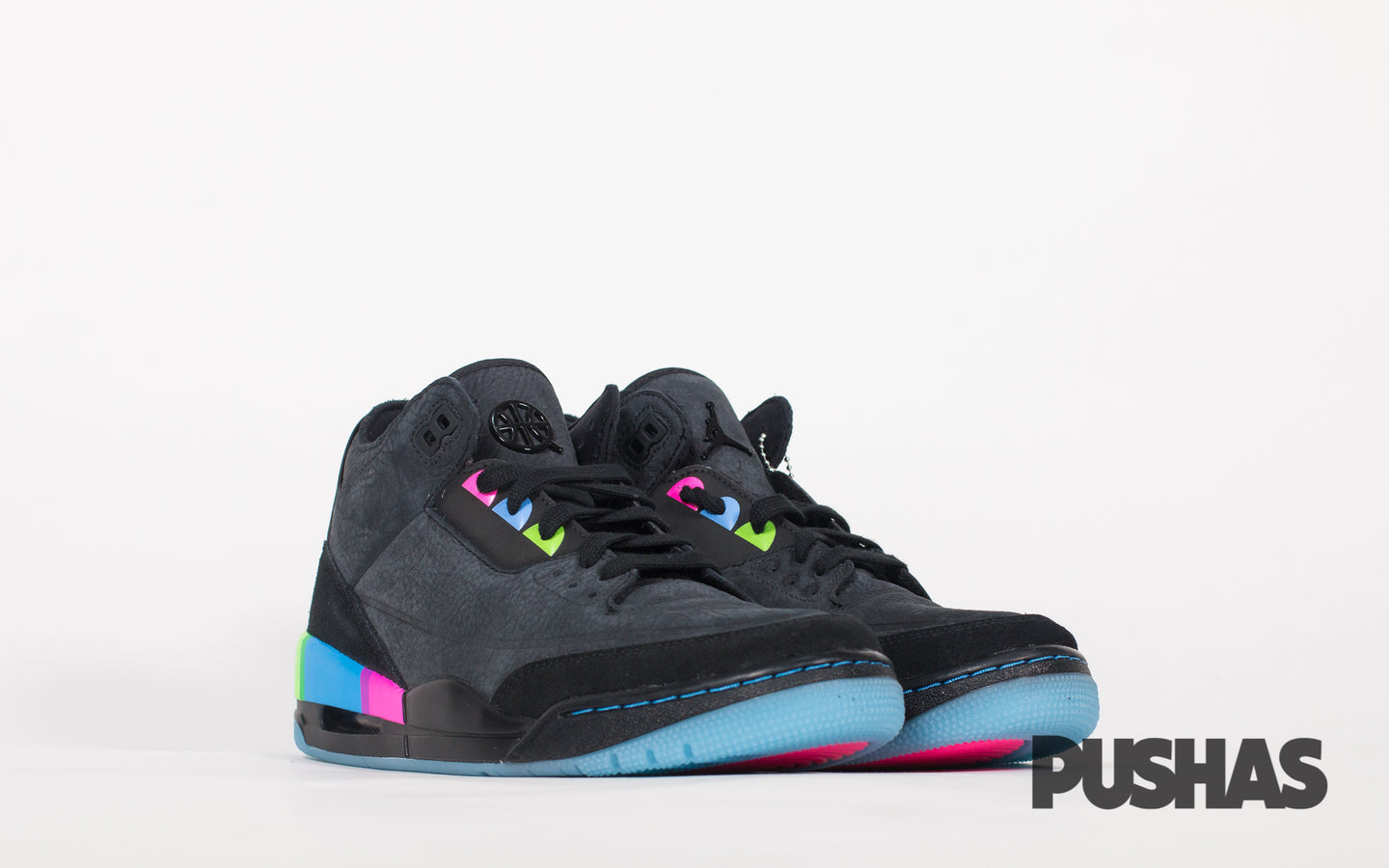 sports shoes 8a298 5182e Air Jordan 3 ' Quai54' (New) – PUSHAS