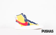 Blazer Mid x Sacai - Yellow/Blue (New)