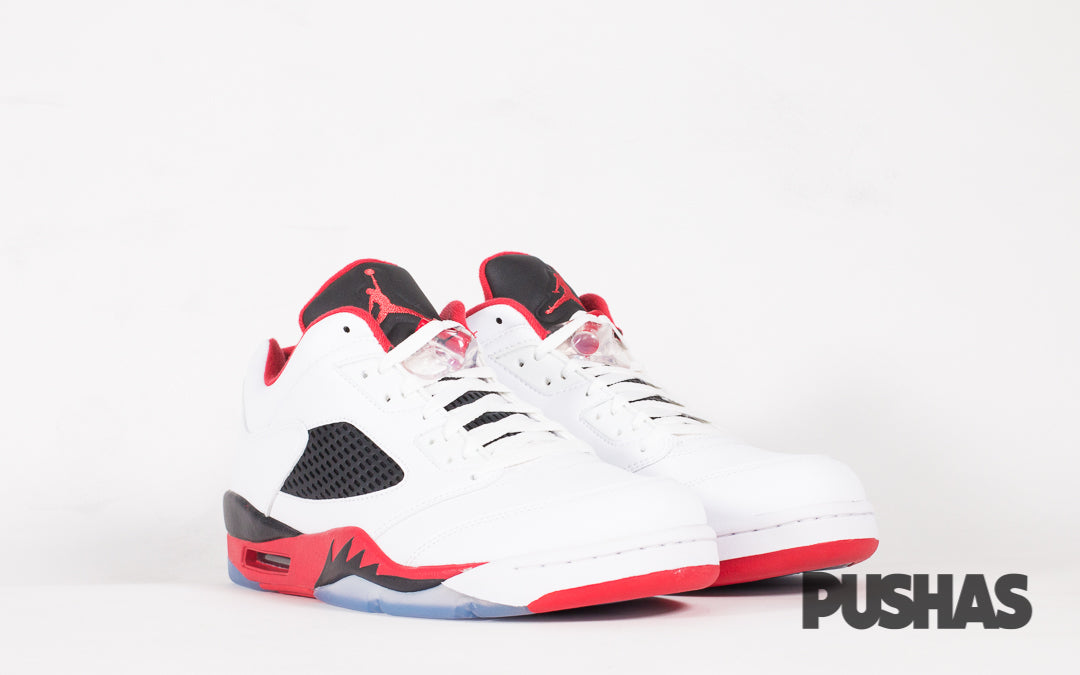 factory authentic 0963d 5f267 Air Jordan 5 Retro Low 'Fire Red' (New) – PUSHAS