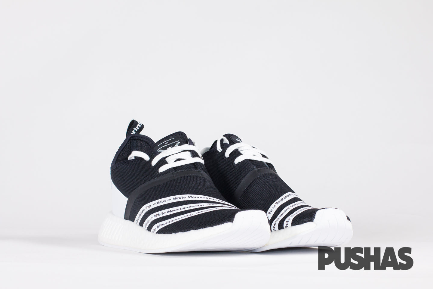 NMD_R2 PK x White Mountaineering - Black (New)