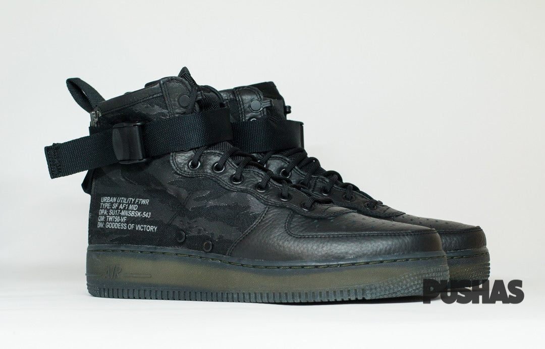Special Field Air force 1 Mid QS - Black(New)