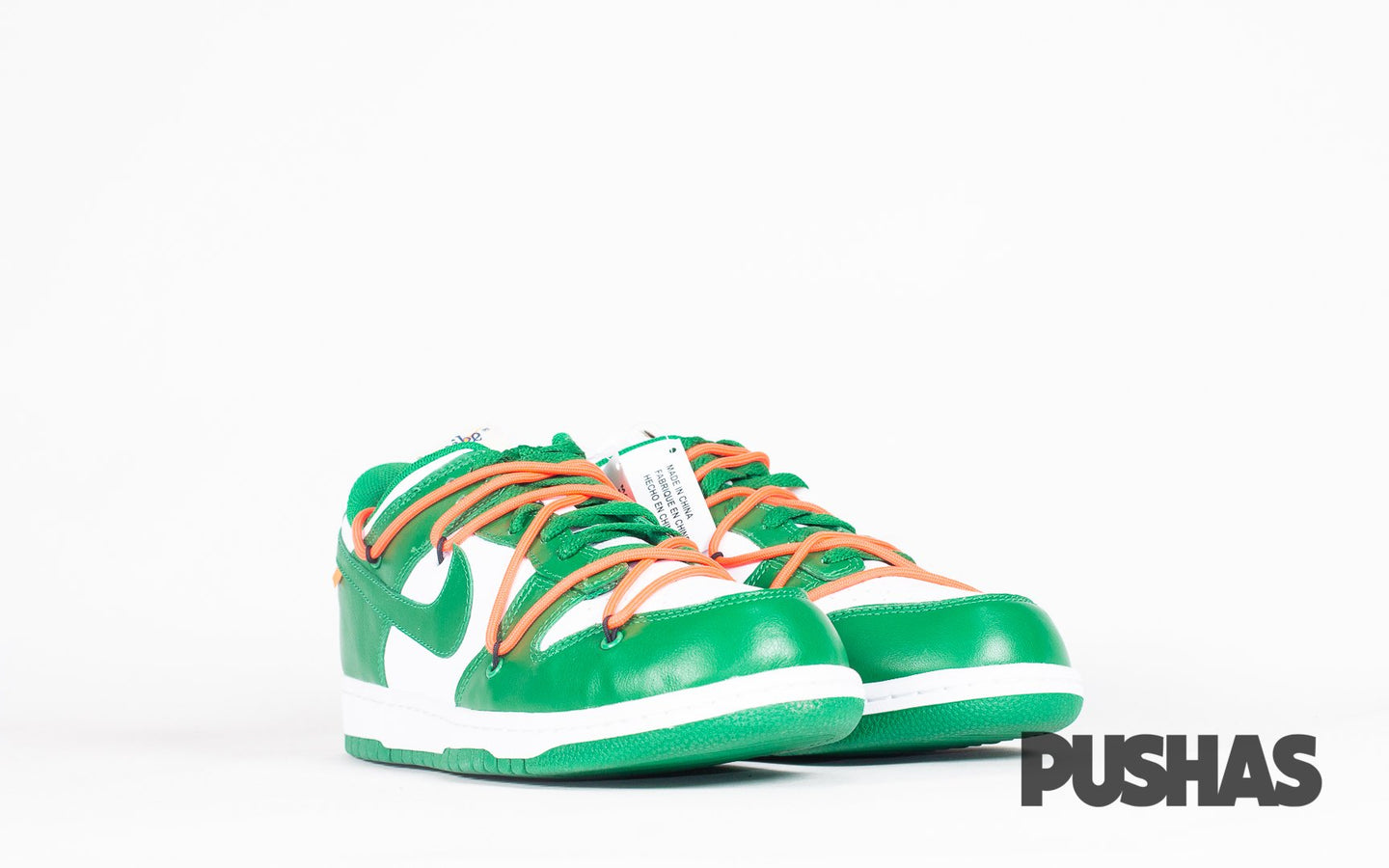Dunk Low x Off-White - Pine Green (New)