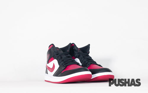 pushas-Nike-Air-Jordan-1-Mid-Bred-Toe-GS