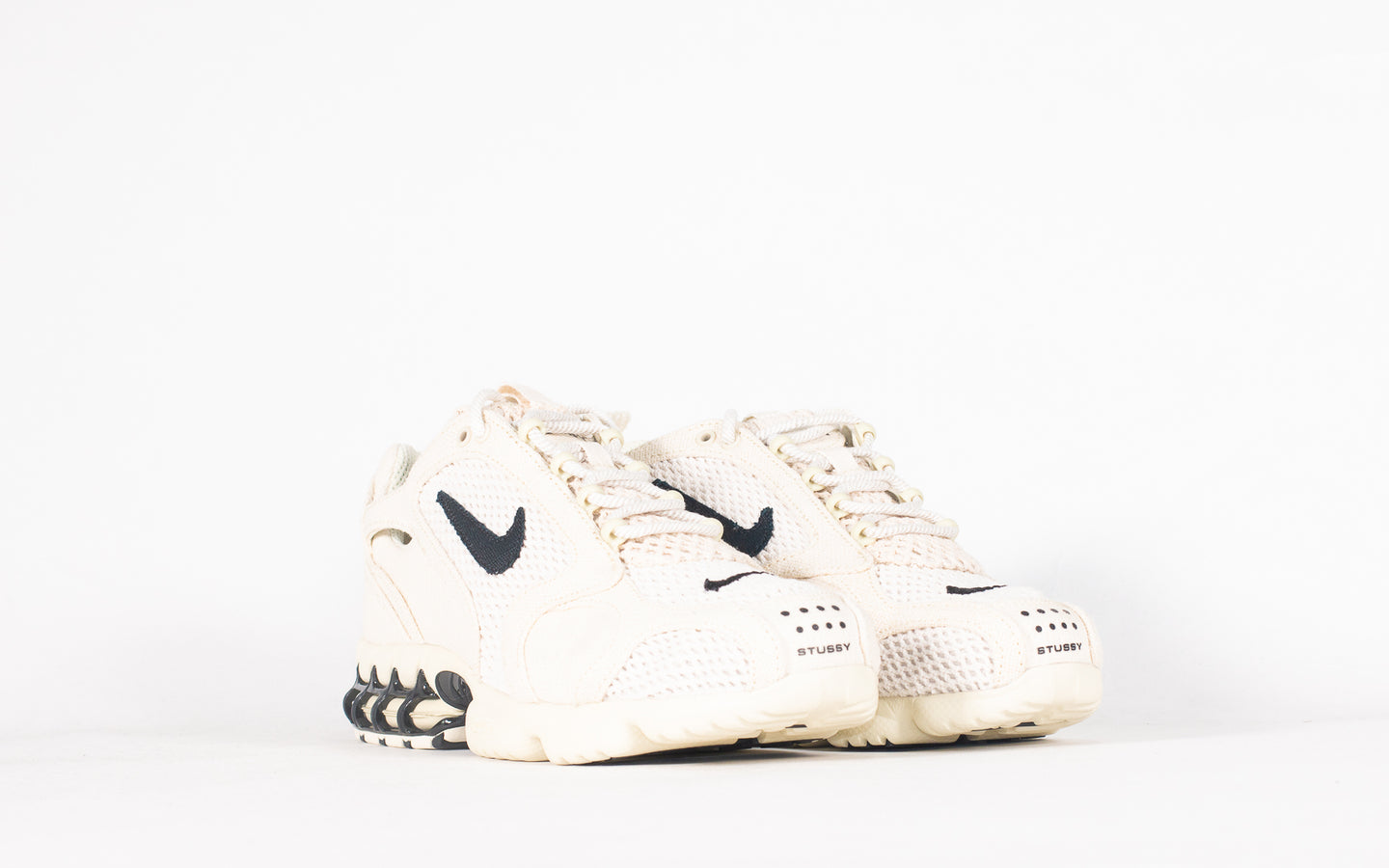 Air Zoom Spiridon Cage 2 x Stussy 'Fossil' (New)