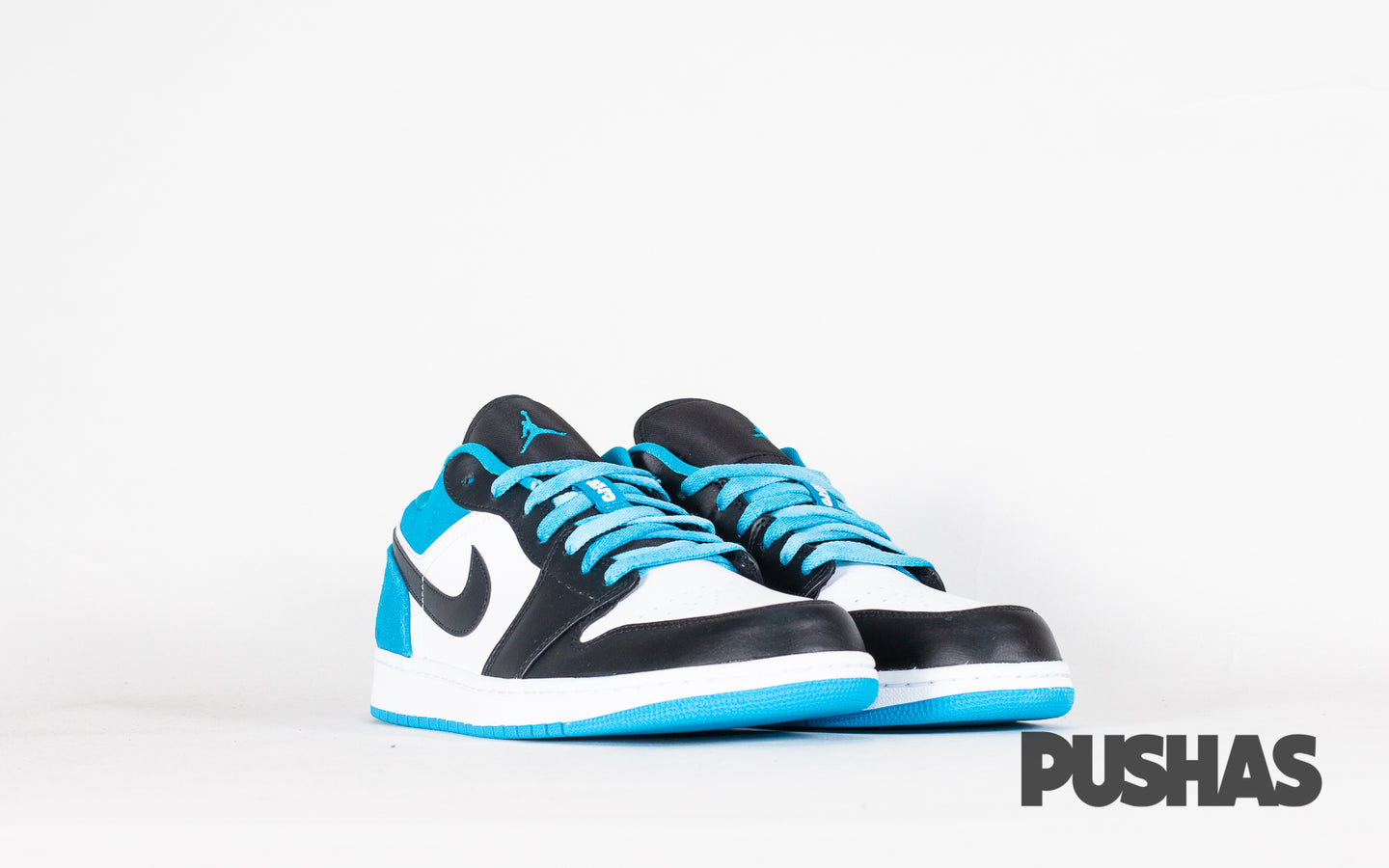 pushas-nike-Air Jordan-1-Low-Laser-Blue