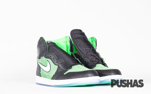 Air Jordan 1 Zoom Black Green